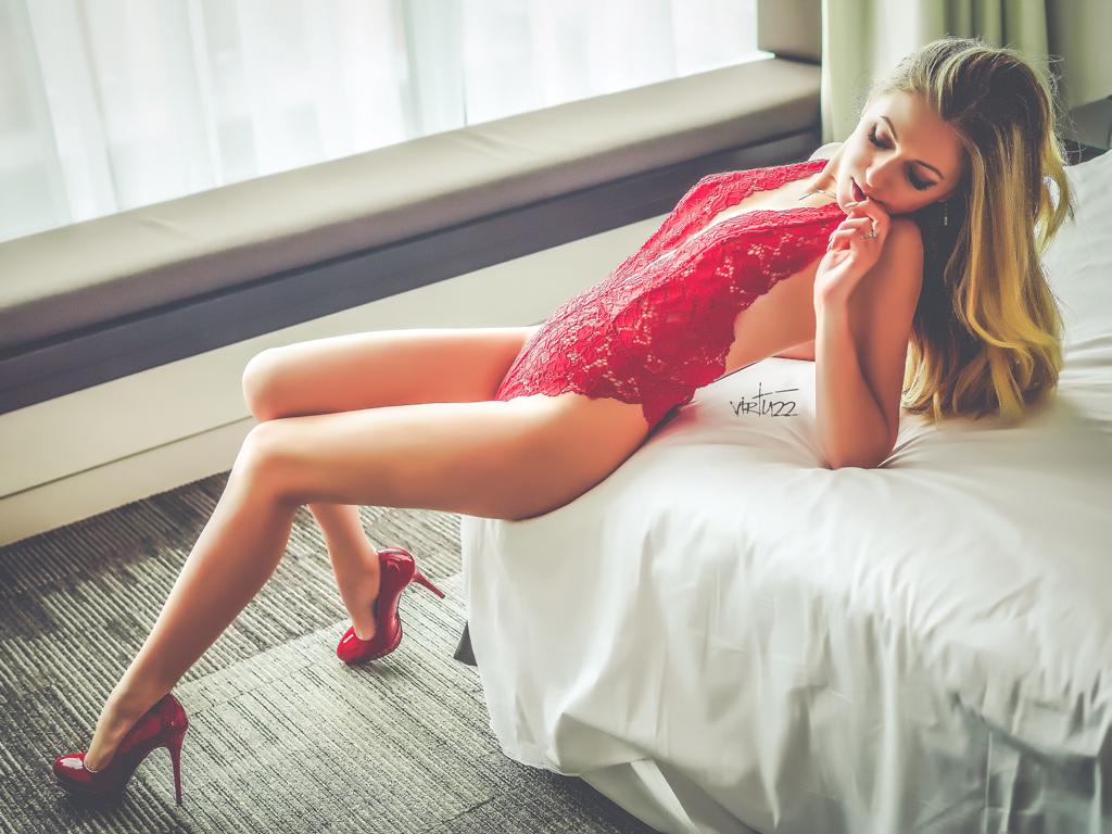 kobieca sesja sensualna